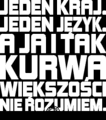 Jeden kraj (by Szymy.pl) - ciemna męska