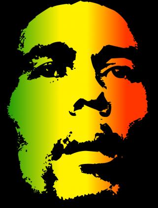 męska koszulka z Bob Marley