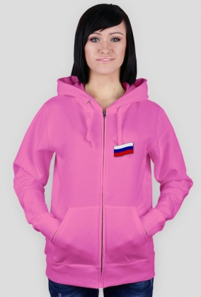 Bluza damska, nadruk: flaga rosyjska, Rosja