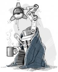 chory robot