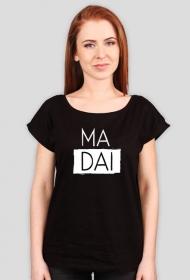 Ma dai Czarny/szary Tshirt