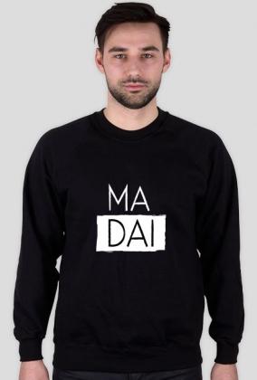 Ma dai czarna bluza męska