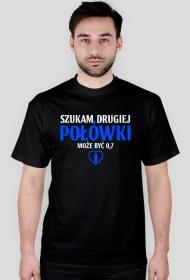 Szukam drugiej połówki, może być 0,7 - Męski T-shirt (Ciemny)