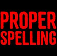 You had me at proper spelling and grammar - Męski T-shirt (Jasny)
