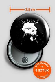 button Pen User - czarny