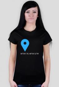 Koszulka Współrzędne