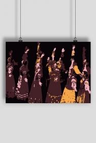 Plakat Tancerze