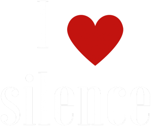 Koszulka I love silence