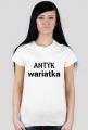 Koszulka Antykwariatka white