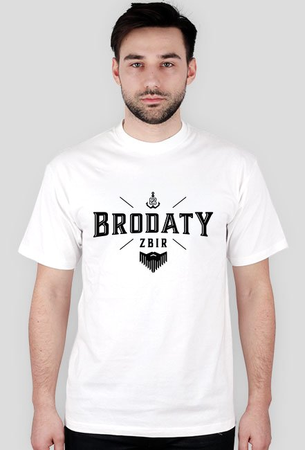 Brodaty Zbir - Koszulka White