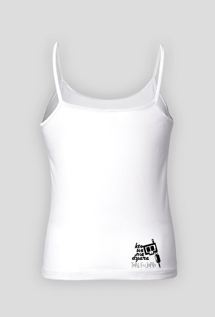 Koszulka letnia damska czacha KSNDTF White