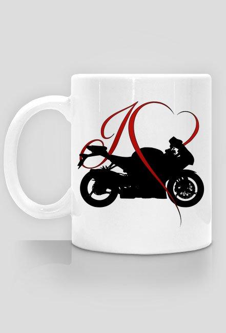 I love moto - kubek