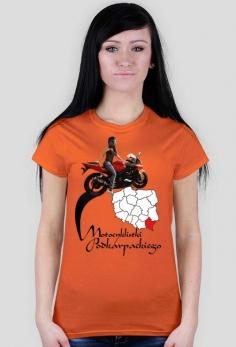 Motocyklistki podkarpackiego - koszulka damska