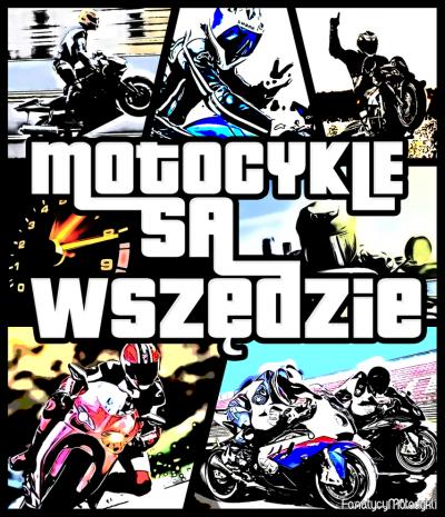 Motocykle są wszędzie M - koszulka