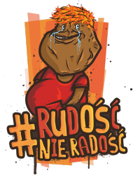 #RNR - Black Face - Poduszka