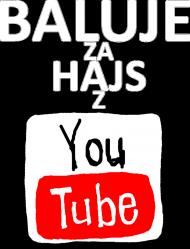 BALUJE ZA HAJS Z YOUTUBE Męska - czarna - wersja 3