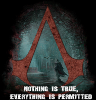 1-b (Nothing Is True, Everything Is Permitted)
