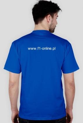 Koszulka, nieb., małe logo