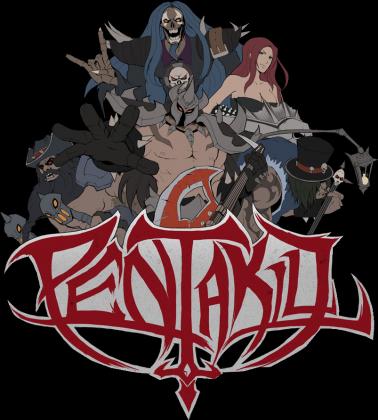 Pentakill Band - League Of Legends - Czarna
