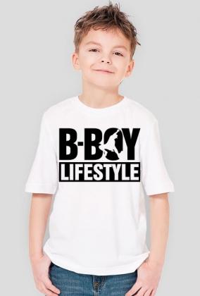B-Boy Lifestyle Biała dla chłopca
