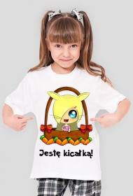 Jestę Kicałką - koszulka dziewczęca