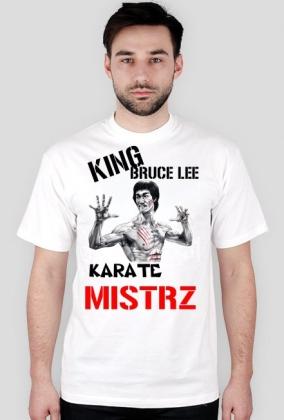 King Bruce Lee Karate Mistrz Franek Kimono
