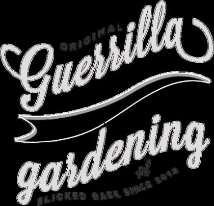 T-Shirt Guerrillagardening.pl dla chłopców/czarny
