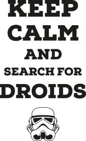 Search for droids - Lady