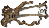 Gitara z Drewna