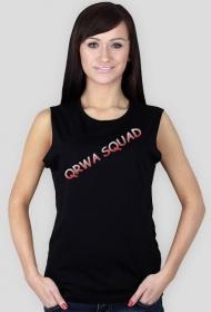 QRWA SQUAD koszulka damska