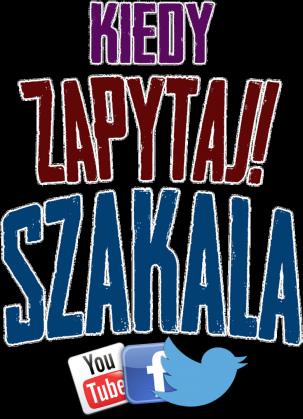 """Bluza z kapturem """"Kiedy zapytaj Szakala"""""""