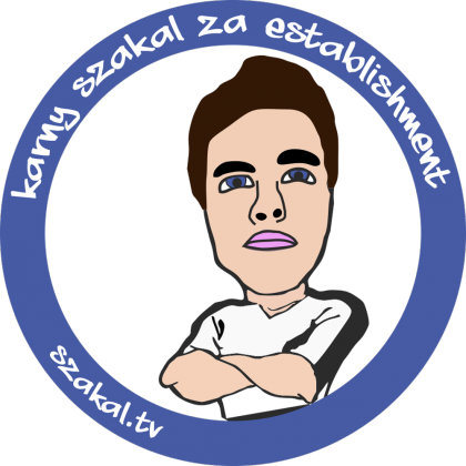 12x Vlepki Karny Szakal