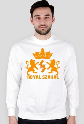 "BLUZA ""Royal Szakal ORANGE"""