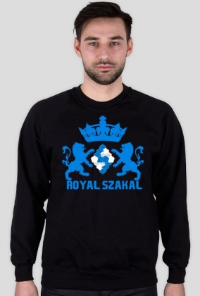 "BLUZA ""Royal Szakal BLUE"""
