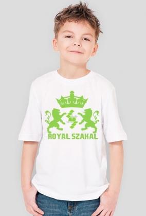 """KOSZULKA DZIECIĘCA """"Royal Szakal GREEN"""""""