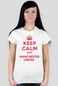 Keep calm and MU damska