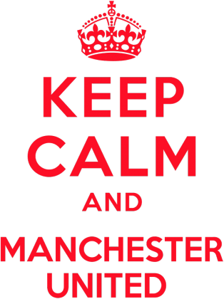 Keep calm and Manchester United