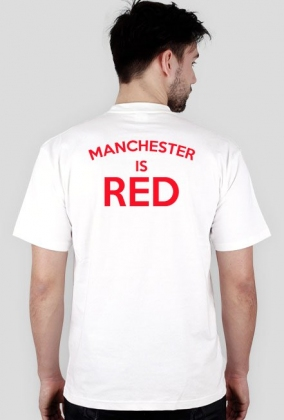 Keep calm Manchester is RED dwustronna