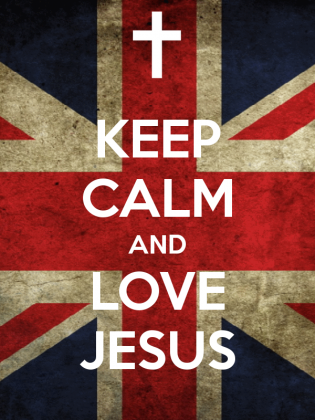 Bluza KEEP CALM AND LOVE JESUS