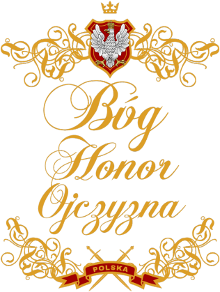 Bóg Honor Ojczyzna czarna