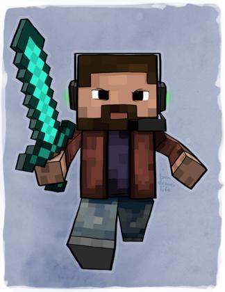 Bluza minecraft!