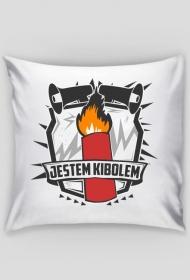 """Poduszka """"Jestem Kibolem"""""""