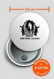 Przypinki POLSKA KIBOLSKA