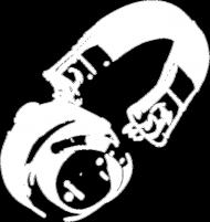 Słuchawki dj [białe]