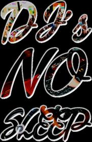 Dj's no sleep - women