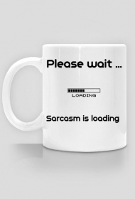 Sarcasm mug