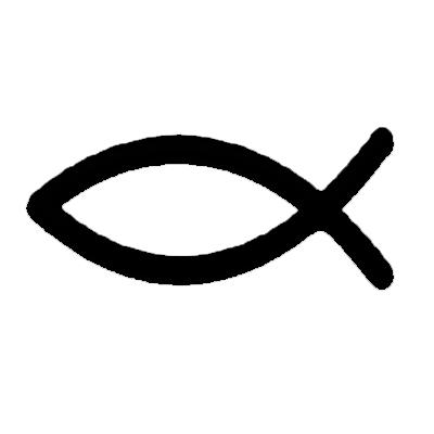 Koszulka z symbolem ryby