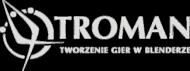 Troman logotyp - Tworzenie gier w Blenderze IUPC Black W