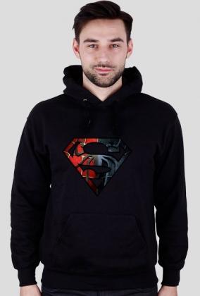 Spiderman - Czarna Bluza z Kapturem