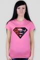Spiderman - Różowy T-Shirt